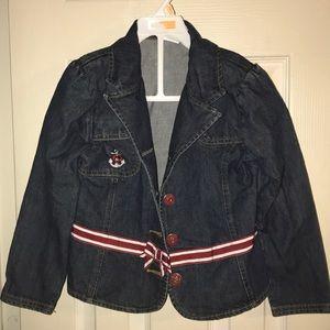 Girls Gymboree Jean jacket Size 7